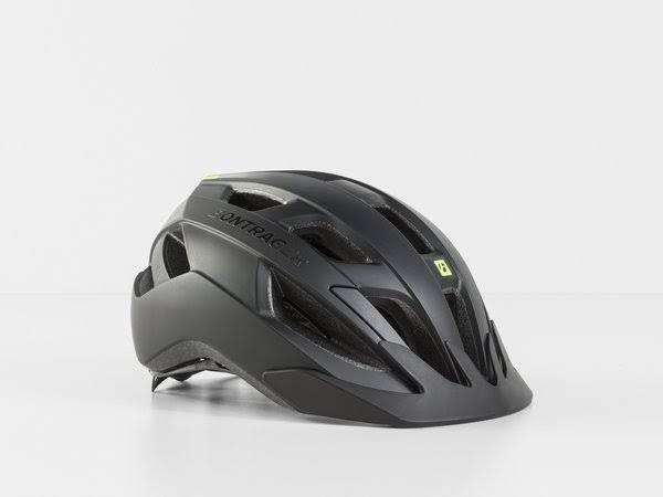 Bontrager Solstice MIPS Youth Bike Helmet - Black/Radioactive Yellow - Youth (48-55cm)