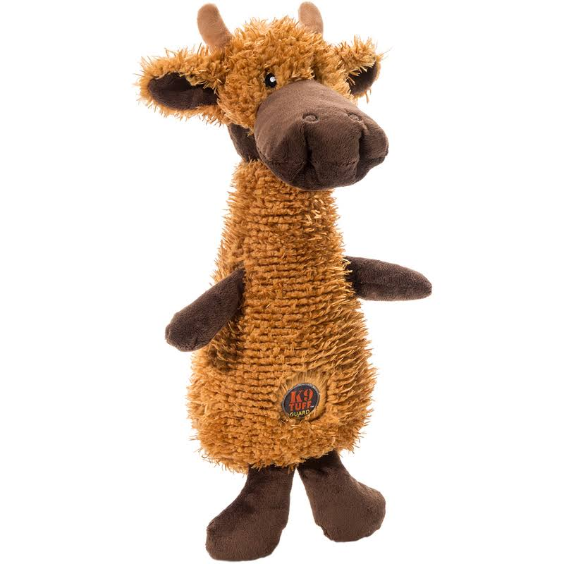 Charming Pet Scruffles Moose Dog Plush Toy - Small