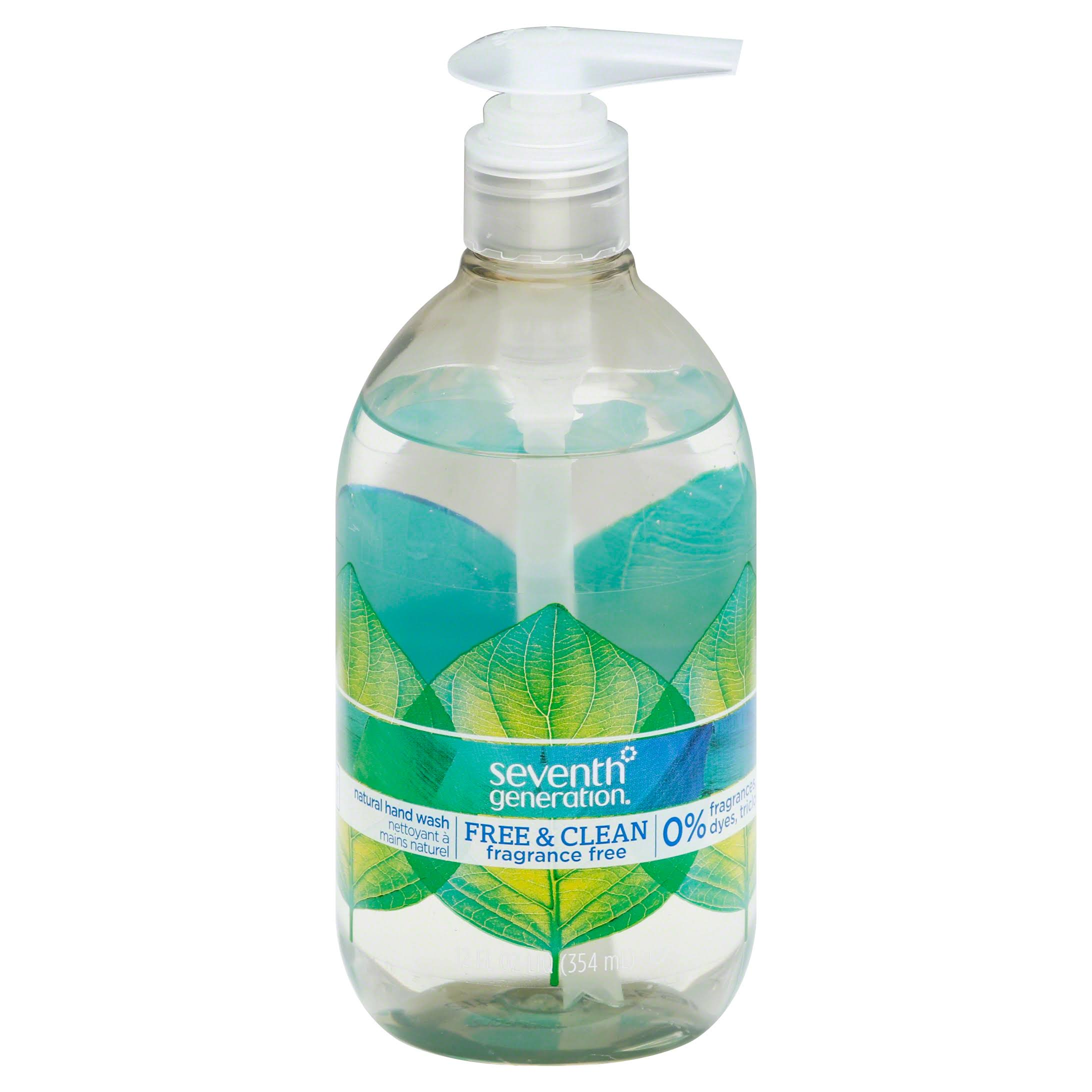 Seventh Generation Natural Hand Wash - Unscented, 350ml