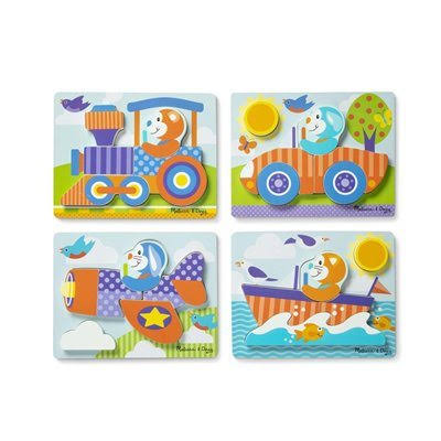 Melissa & Doug - First Play Jigsaw Puzzle Set Vehicles