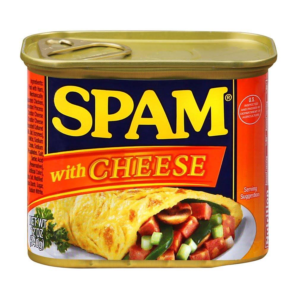 Spam Spam, with Cheese - 12 oz