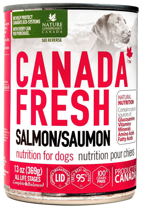 Petkind Pet Products Canada Fresh Salmon 13 oz