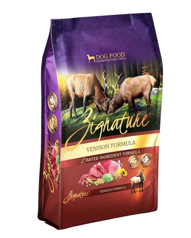 Zignature Dog Food - Venison Formula