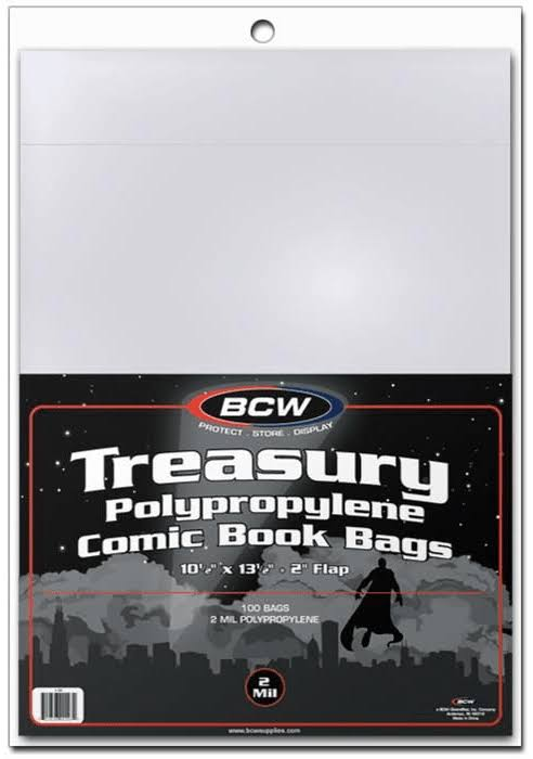 BCW Comic Book Treasury Bags