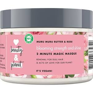 Love Beauty & Planet Pink Rose and Murumuru Conditioner Mask 300ml