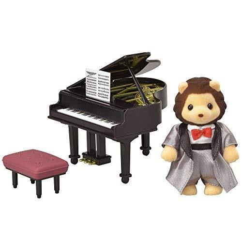 Calico Critters Town Series Grand Piano Concert Doll Furniture Set
