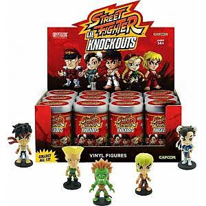 Street Fighter Lil Knockouts Vinyl Mini Figure - 2""