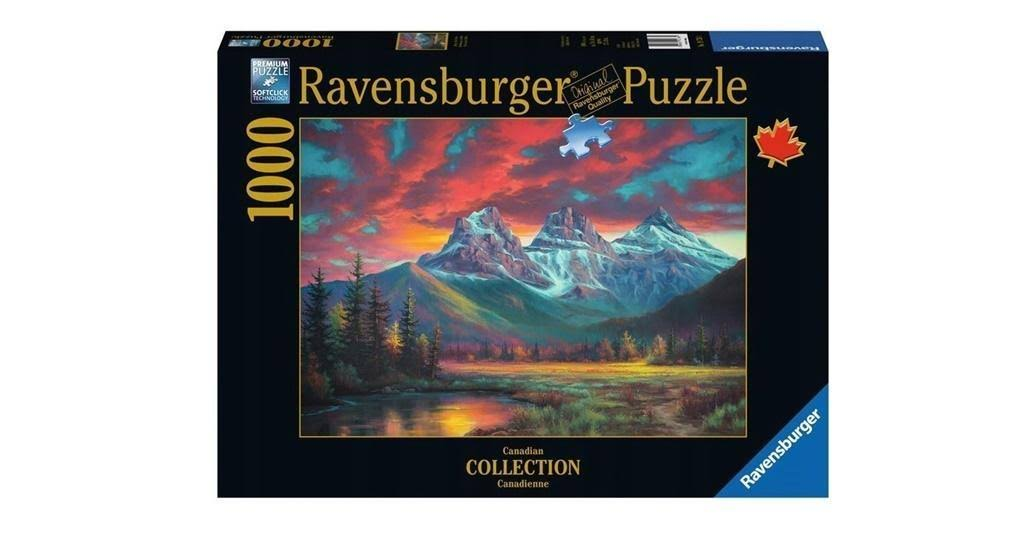 Ravensburger 19736 Canadian Summer Jigsaw Puzzle Set - 1000pcs