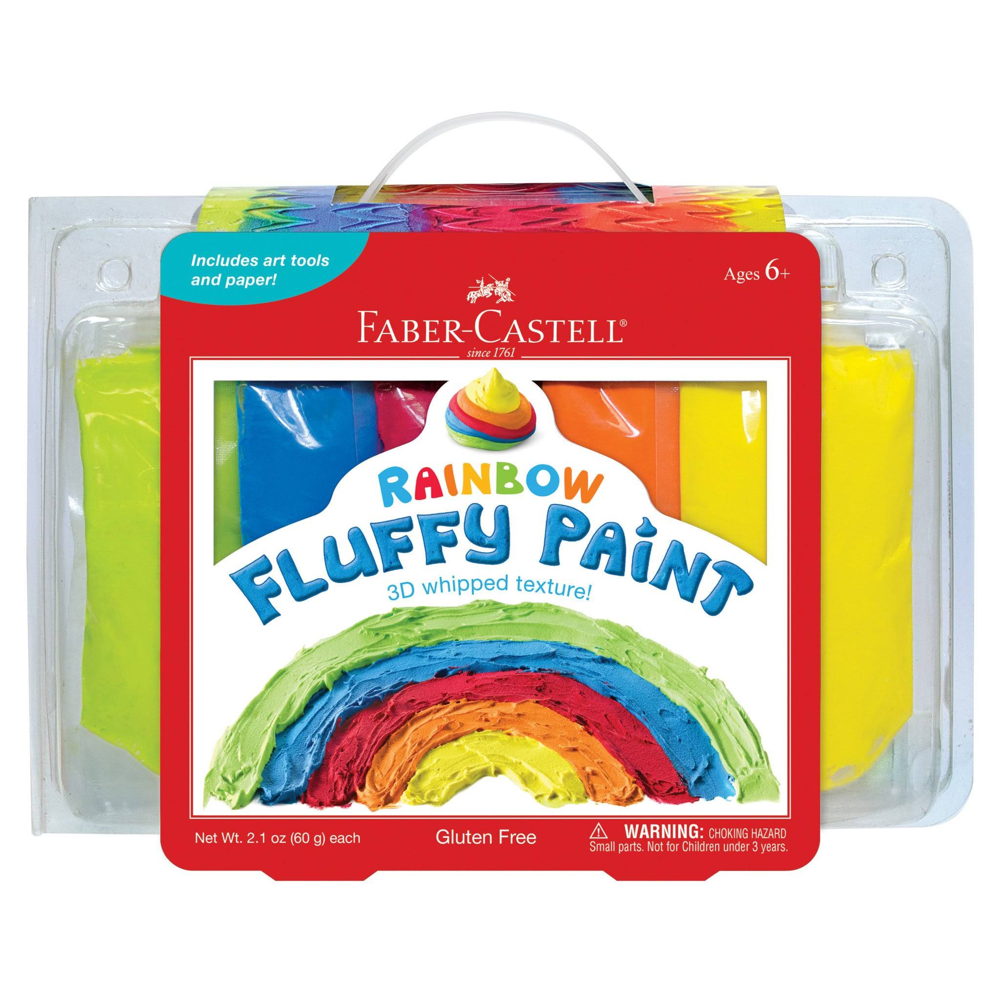 Faber - Castell Rainbow Fluffy Paint