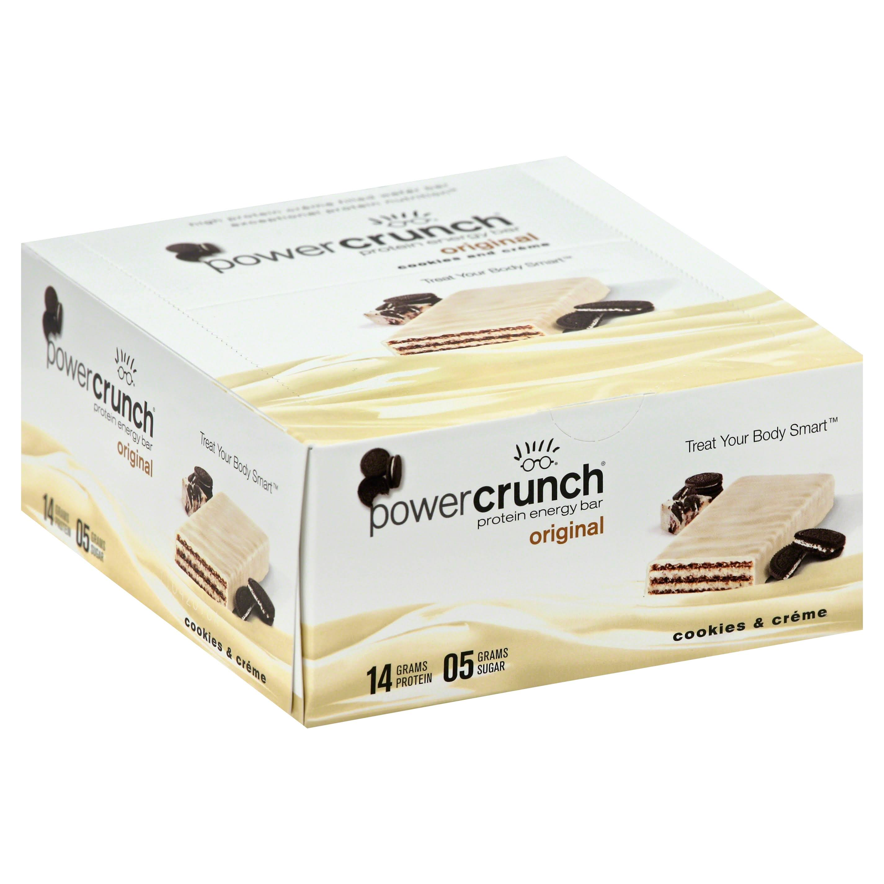 Power Crunch Protein Energy Bar - Cookies & Cream