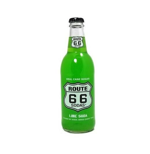 Route 66 Soda - Lime