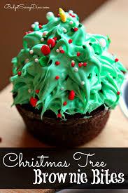 Rice Krispie Christmas Tree Cake by Christmas Tree Brownie Bites Recipe