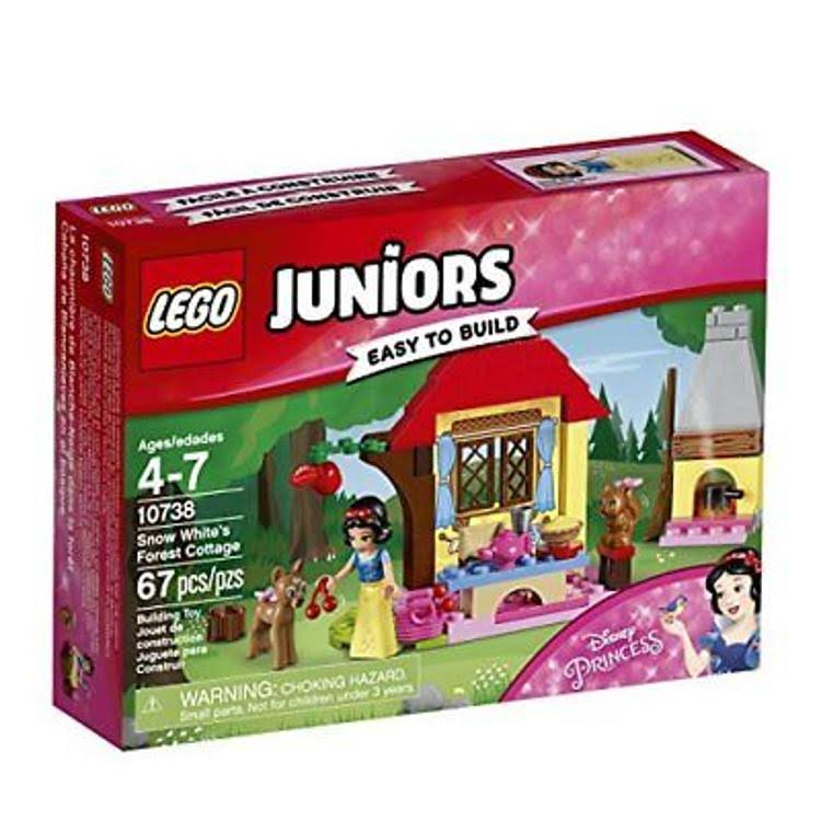 Lego Juniors Snow White's Forest Cottage Building Kit - 67pcs