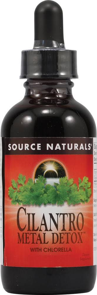 Source Naturals Cilantro Metal Detox With Chlorella Supplement