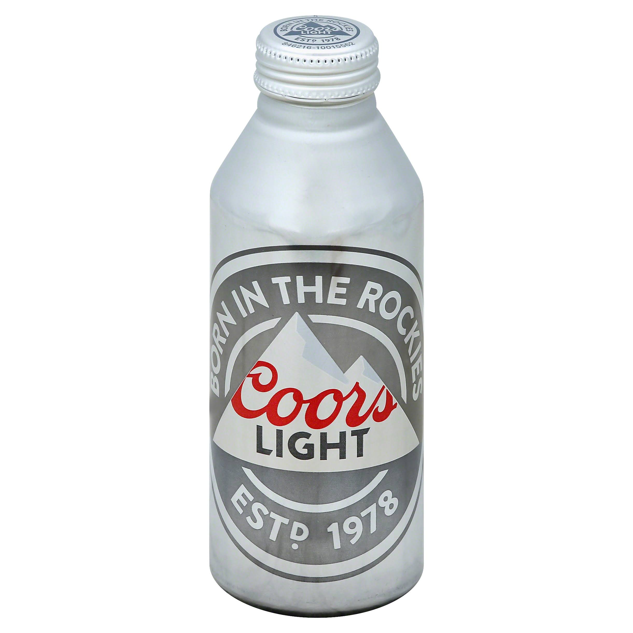 Coors Beer, Light - 16 fl oz