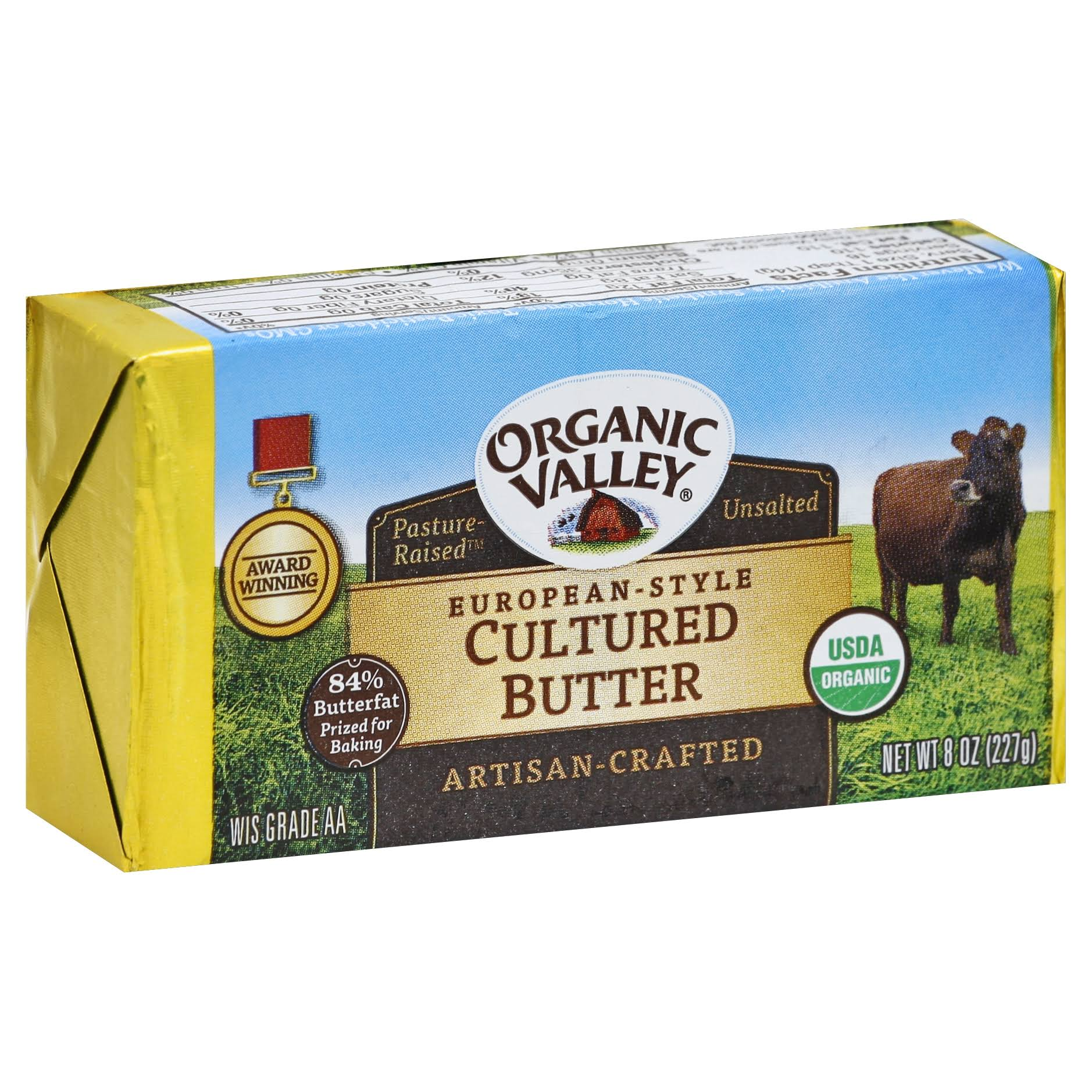Organic Valley European Style Cultured Butter