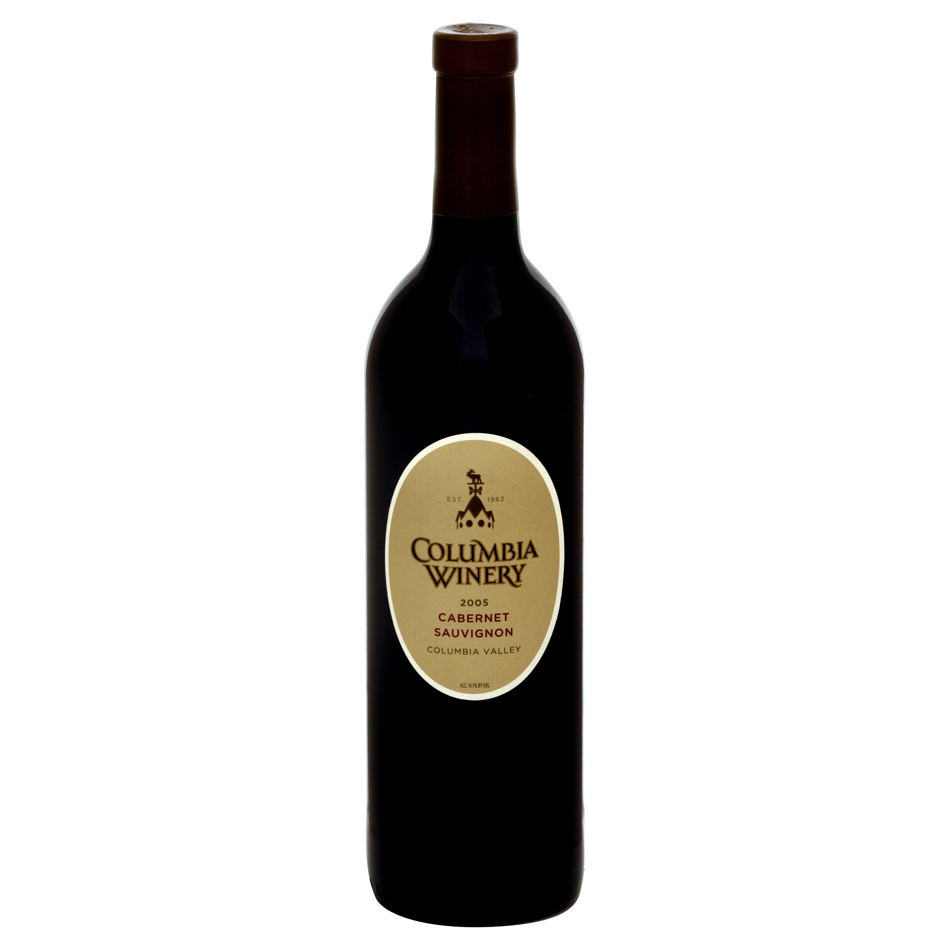 Columbia Winery Cabernet Sauvignon, Columbia Valley, 2004 - 750 ml