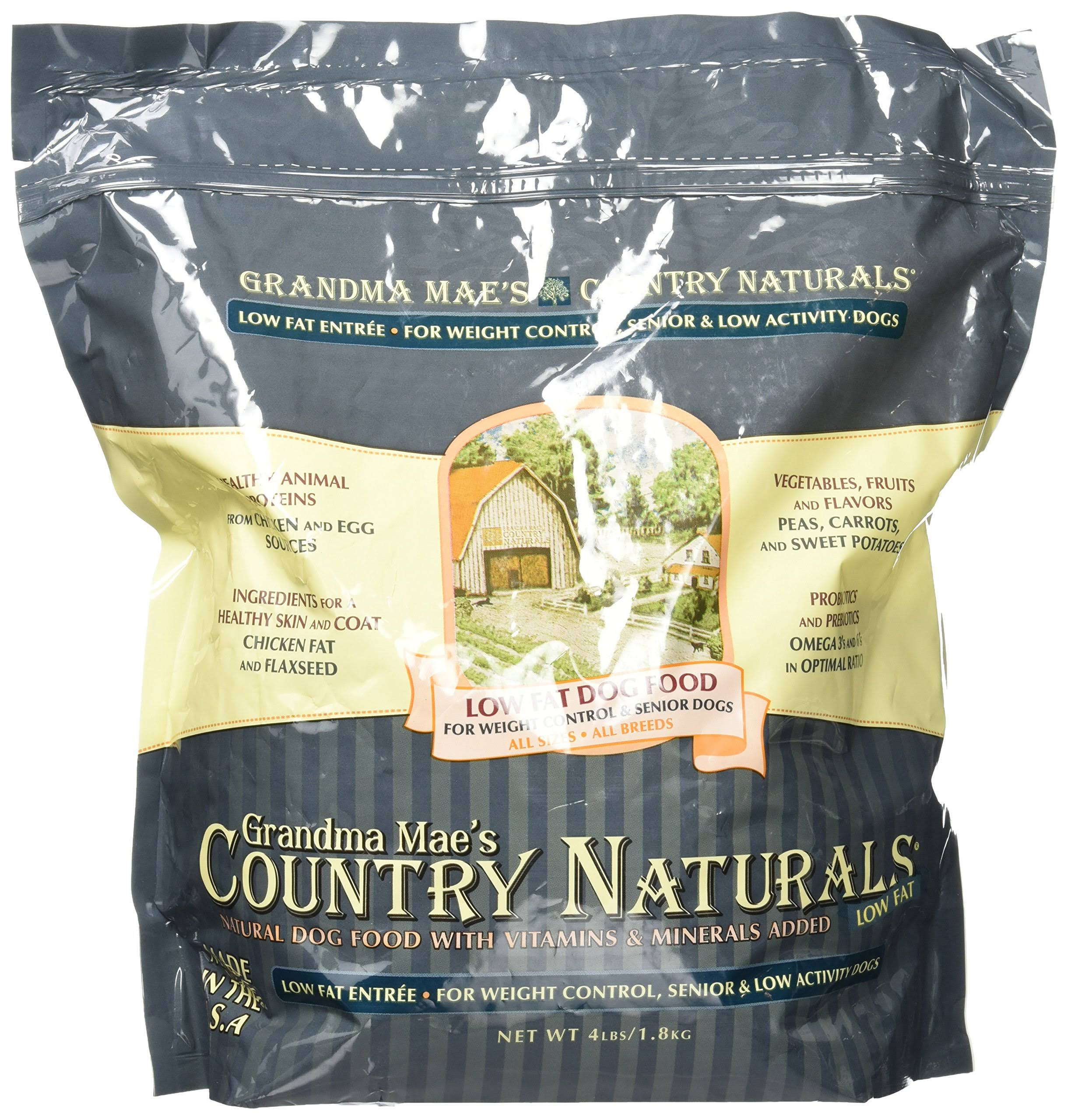 Pet Food Experts Grandma Maes Country Naturals Low-Fat Dog Food