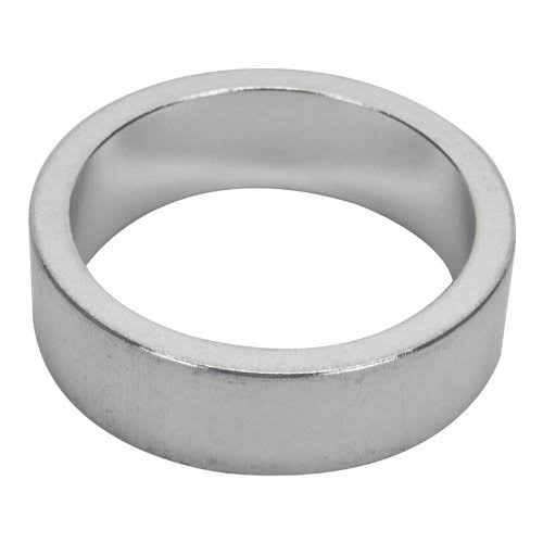 Origin8 Headset Spacers - Silver, 10mm x 1-1/8""
