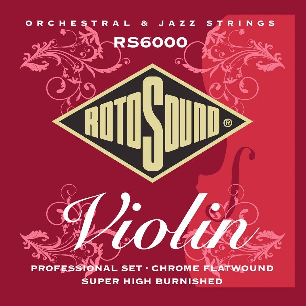 Rotosound RS6000 Professional Set Violin Strings