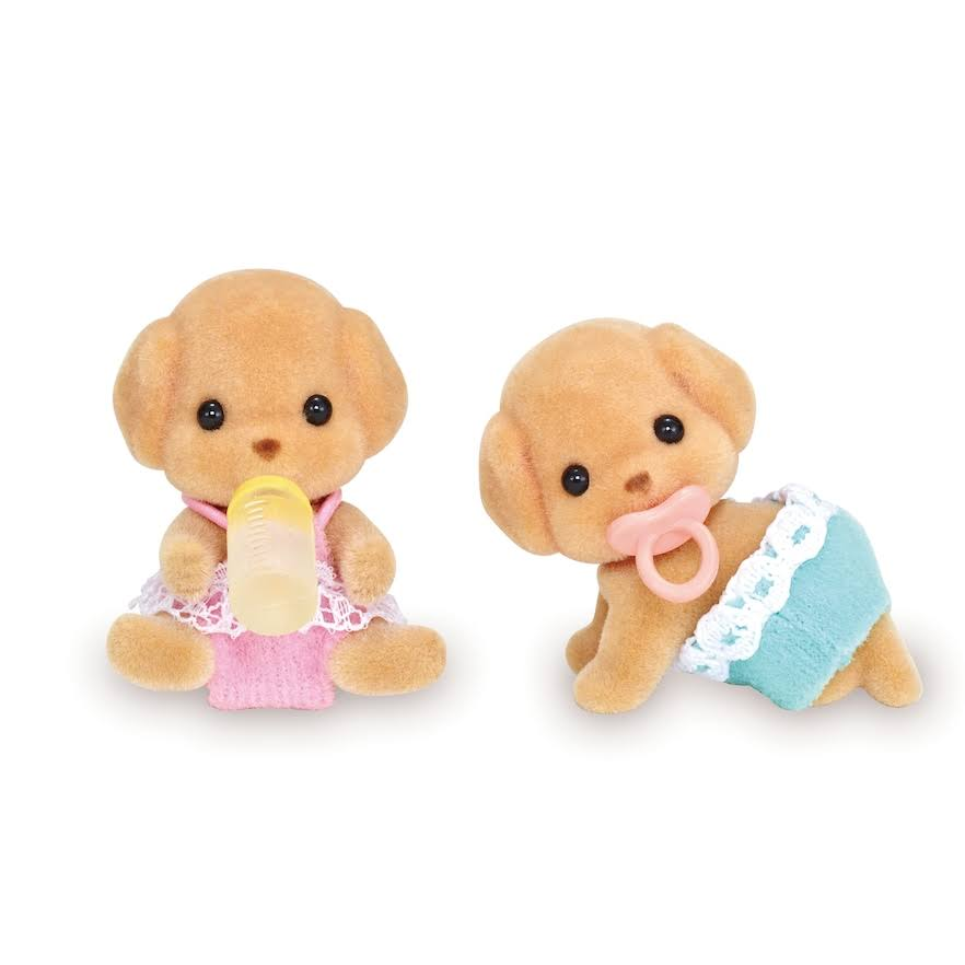 Calico Critters - Toy Poodle Twins