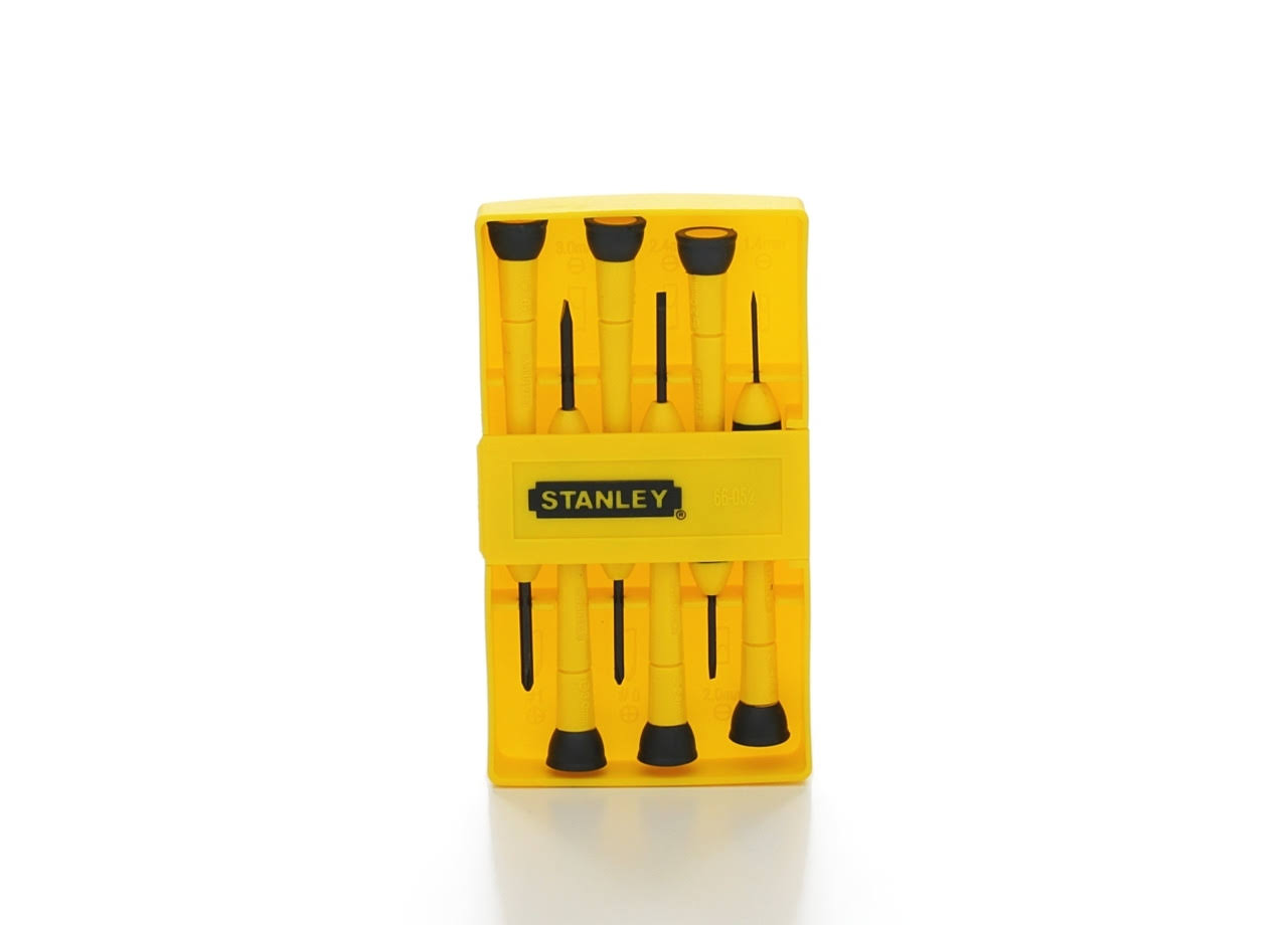 Stanley Precision Screwdriver Set - 6 Pieces