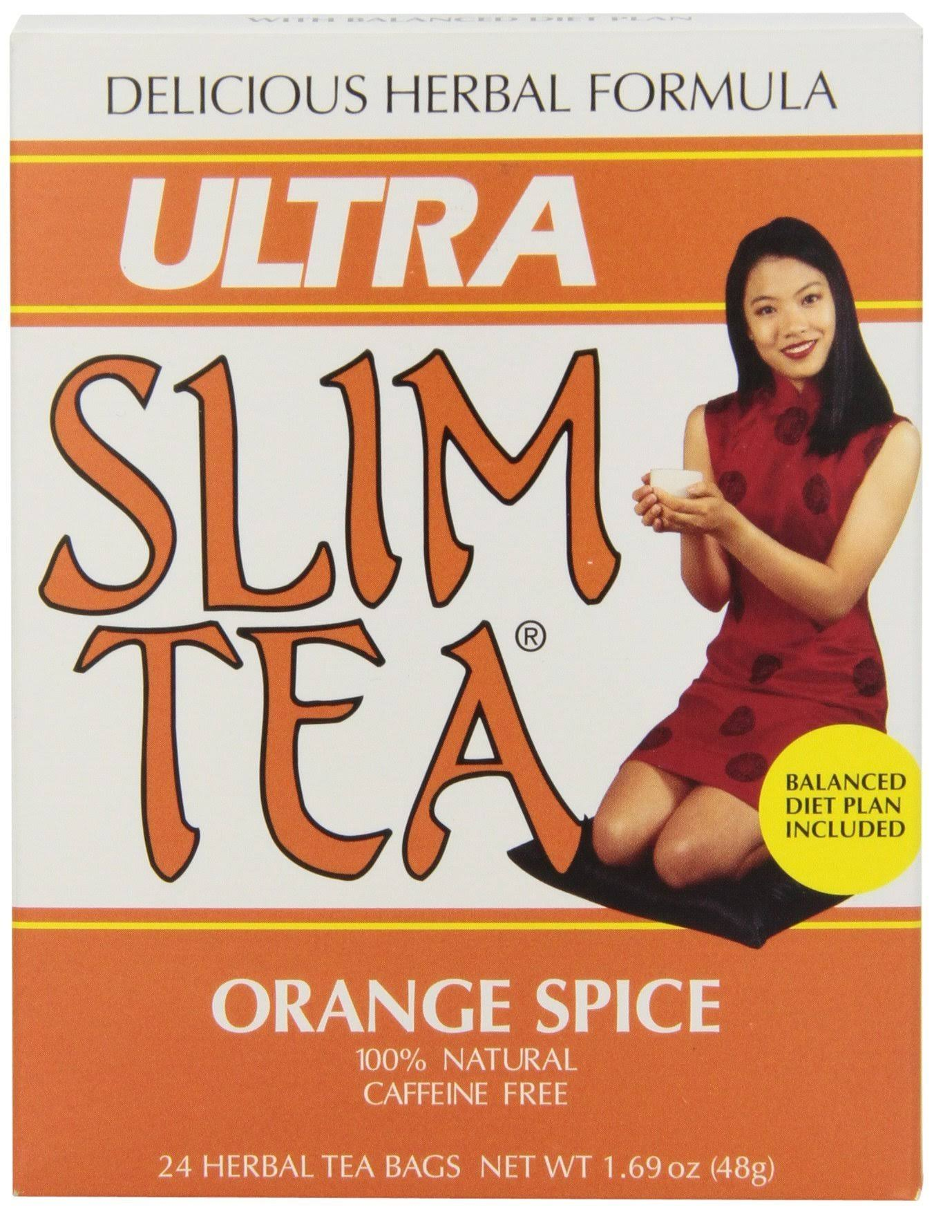 Hobe Labs Ultra Slim Tea - Orange Spice, 24ct