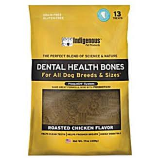 Indigenous Dental Health Bones - Chicken Flavor