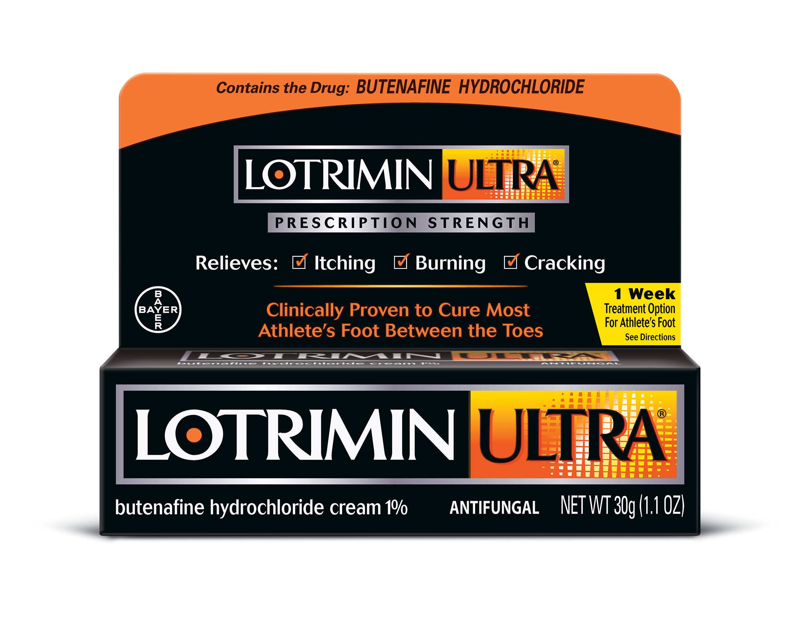 Lotrimin Ultra Prescription Strength Antifungal Cream - 30g