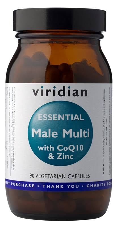 Viridian Essential Male Multi with CoQ10 & Zinc