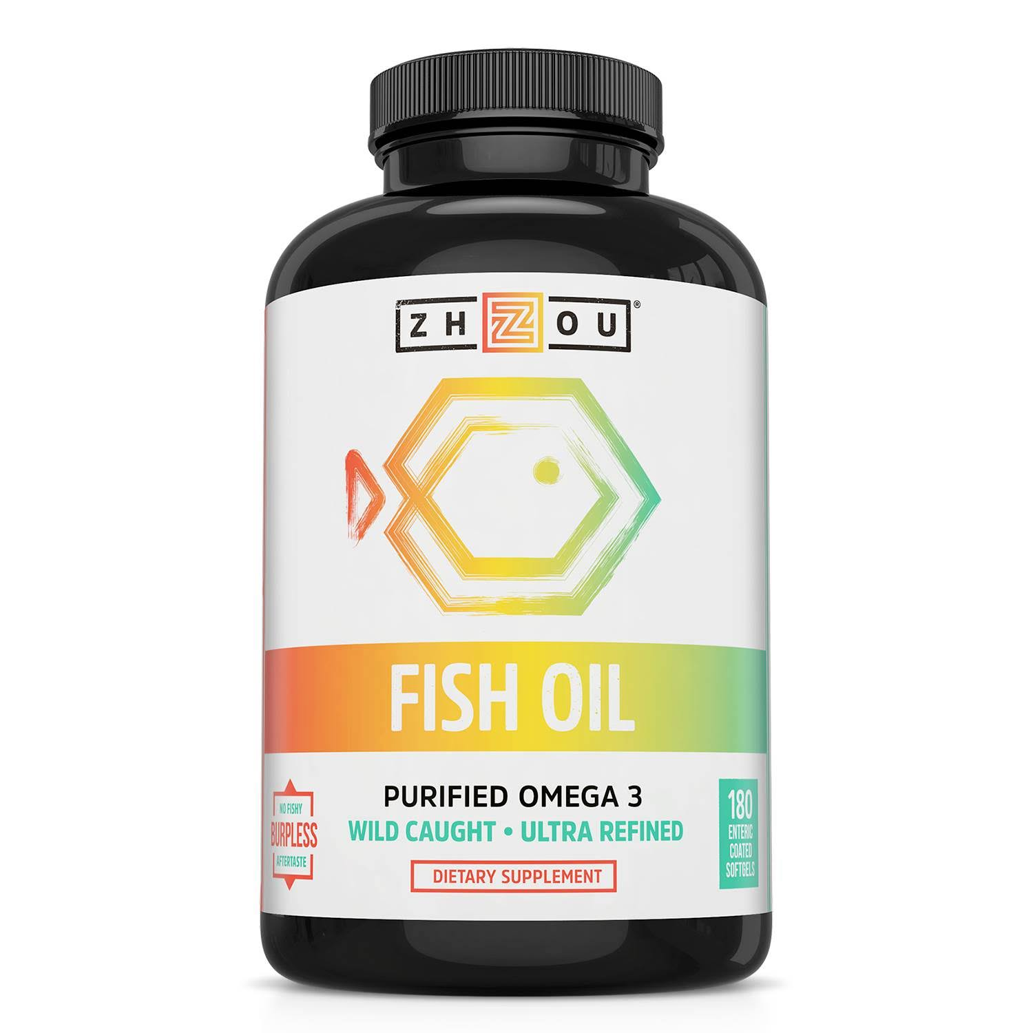 Zhou Nutrition - Fish Oil - 180 Softgels