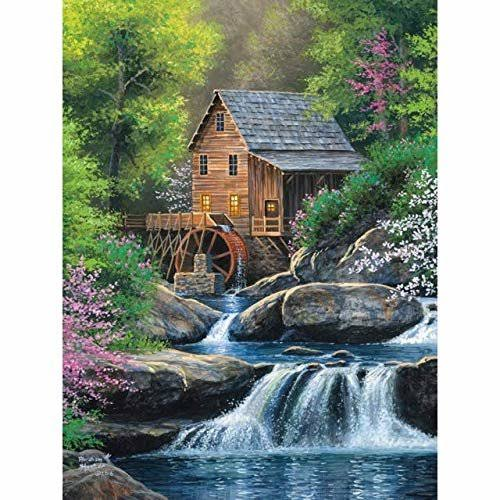 Cobble Hill Spring Mill Jigsaw Puzzle