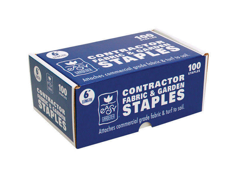 "Easy Gardener Garden Staples 6"" 100pk"