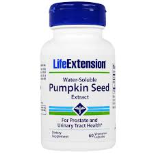 Pumpkin Seed Oil For Hair Loss Dosage by Life Extension Water Soluble Pumpkin Seed Extract 60 Veggie Caps