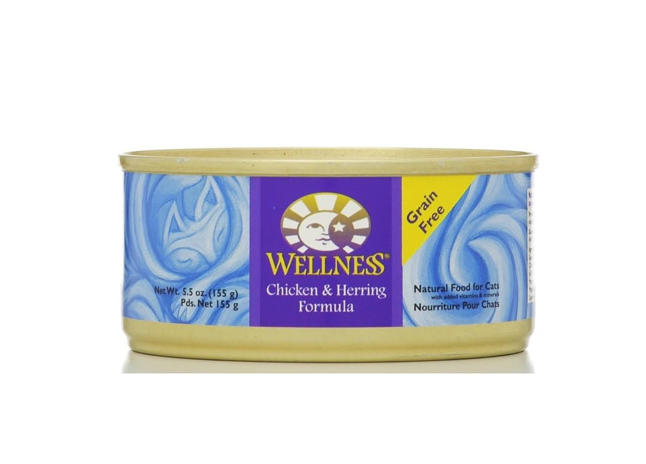Wellness Cat Food - Chicken and Herring
