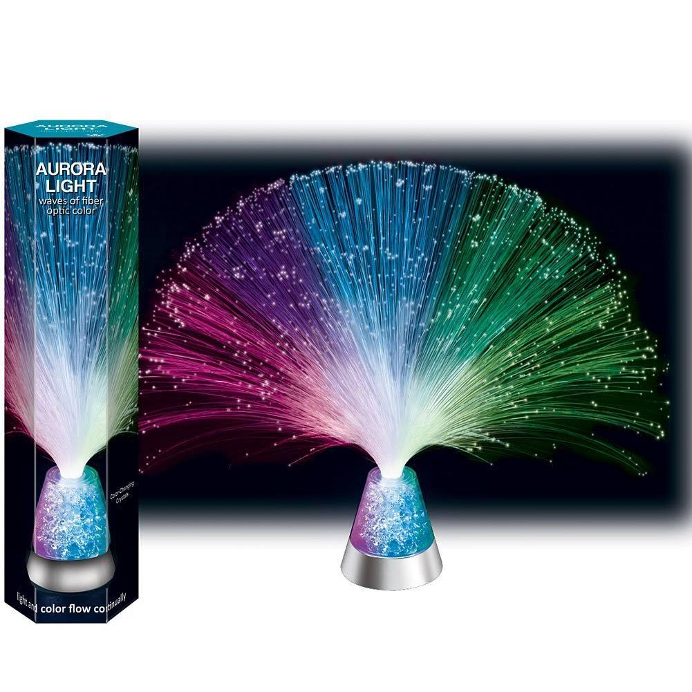 Westminster Inc Fiber Optic Glacier Lite with Color Changing Crystals
