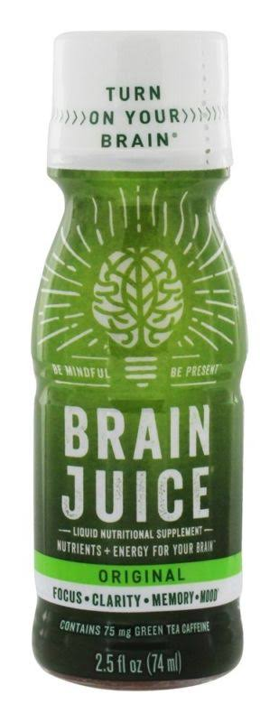 Brain Juice Nutritional Supplement Original Liquid - 2.5oz