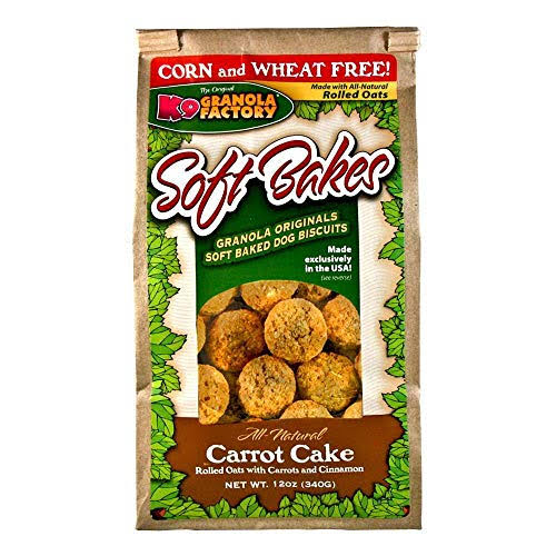 K9 Granola Factory Carrot Cake Soft Bakes - 12 oz bag