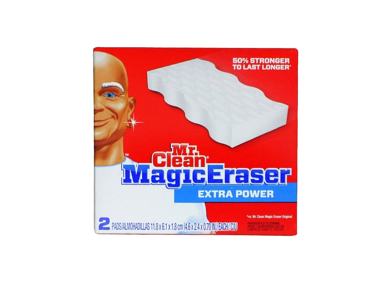 Mr. Clean Magic Eraser Extra Durable Household Cleaning Pads - 2 Pads