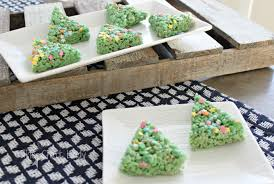Rice Krispie Christmas Tree Cake by Christmas Archives The Crazy Craft Lady