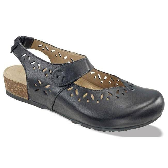 Aetrex Women's Cheryl Slingback Mary Jane - Black