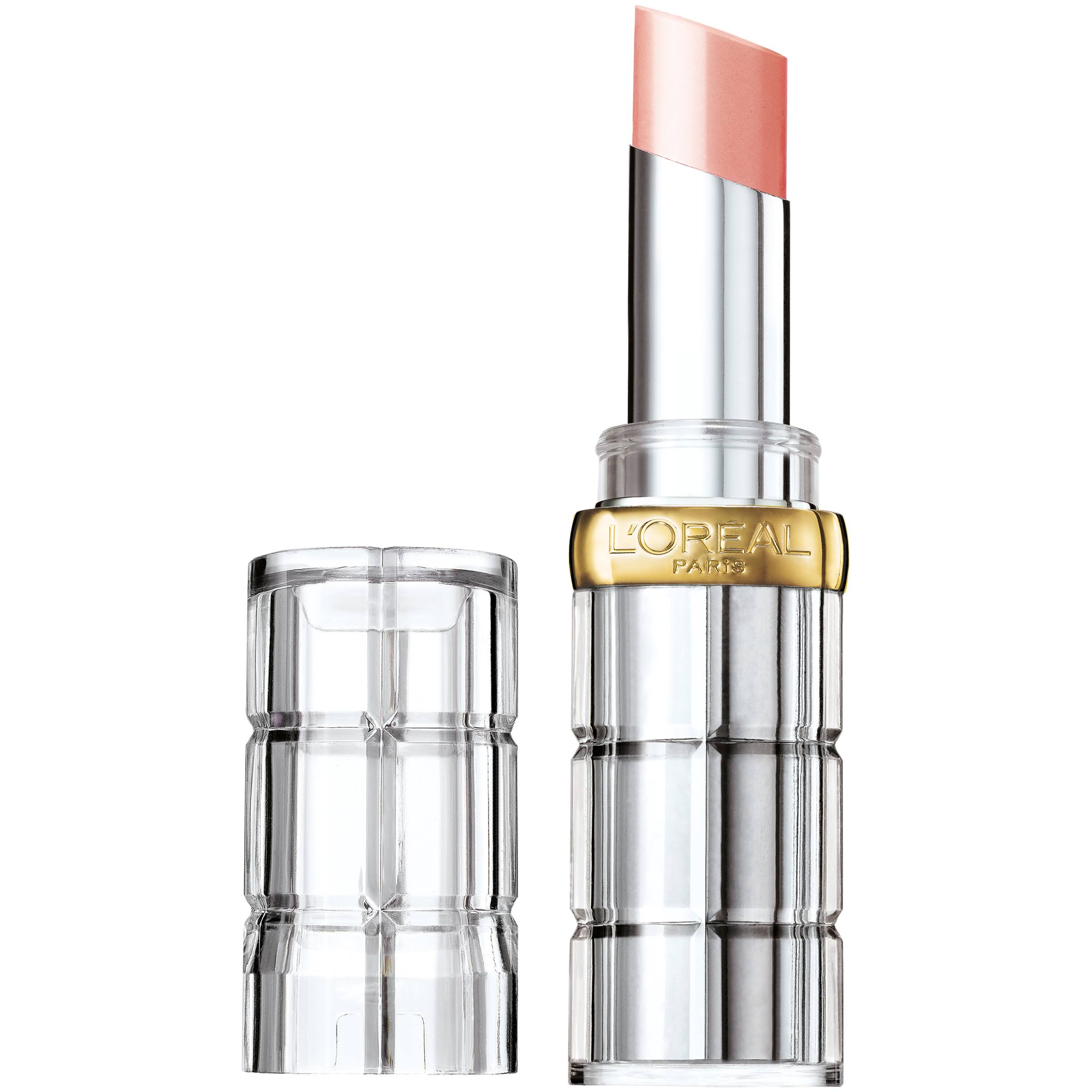 L'Oréal Paris Colour Riche Shine Lipstick - 910 Shining Peach, 0.1oz