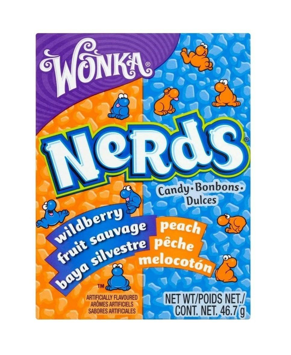 Wildberry & Peach Nerds