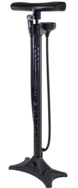 Serfas FP-T3 Air Force Tier Three Bicycle Floor Pump (Black)