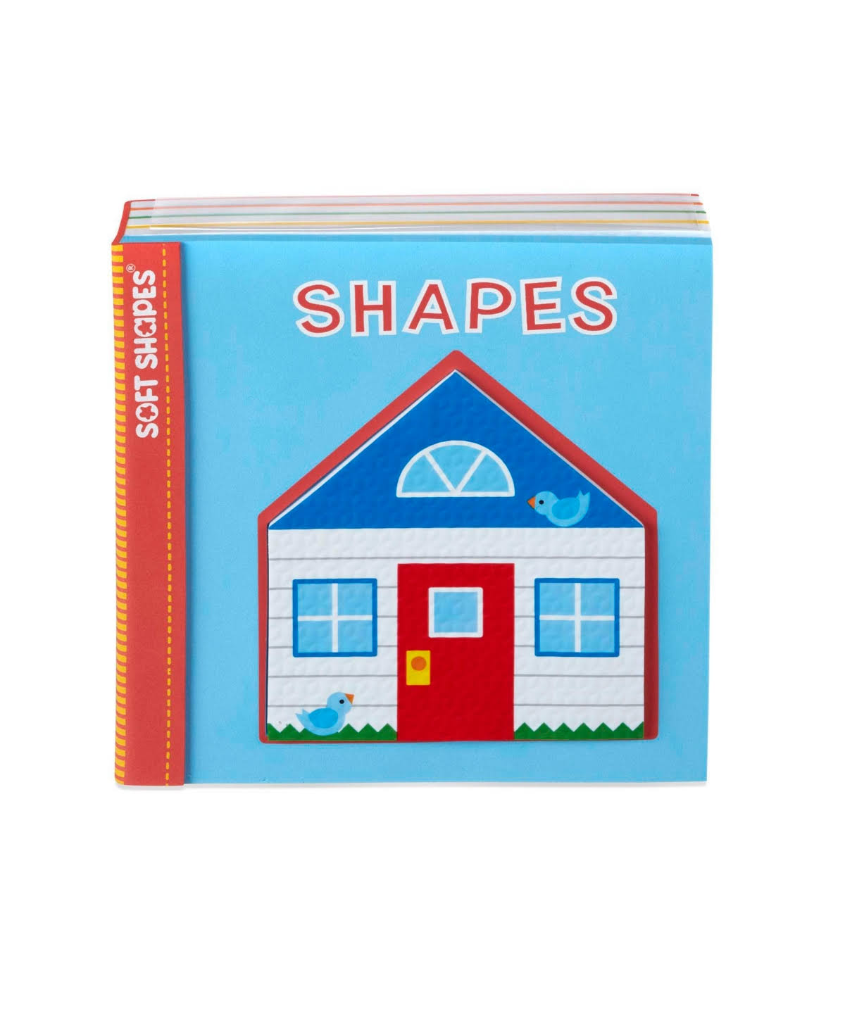 Melissa & Doug Soft Shapes Book- Shapes