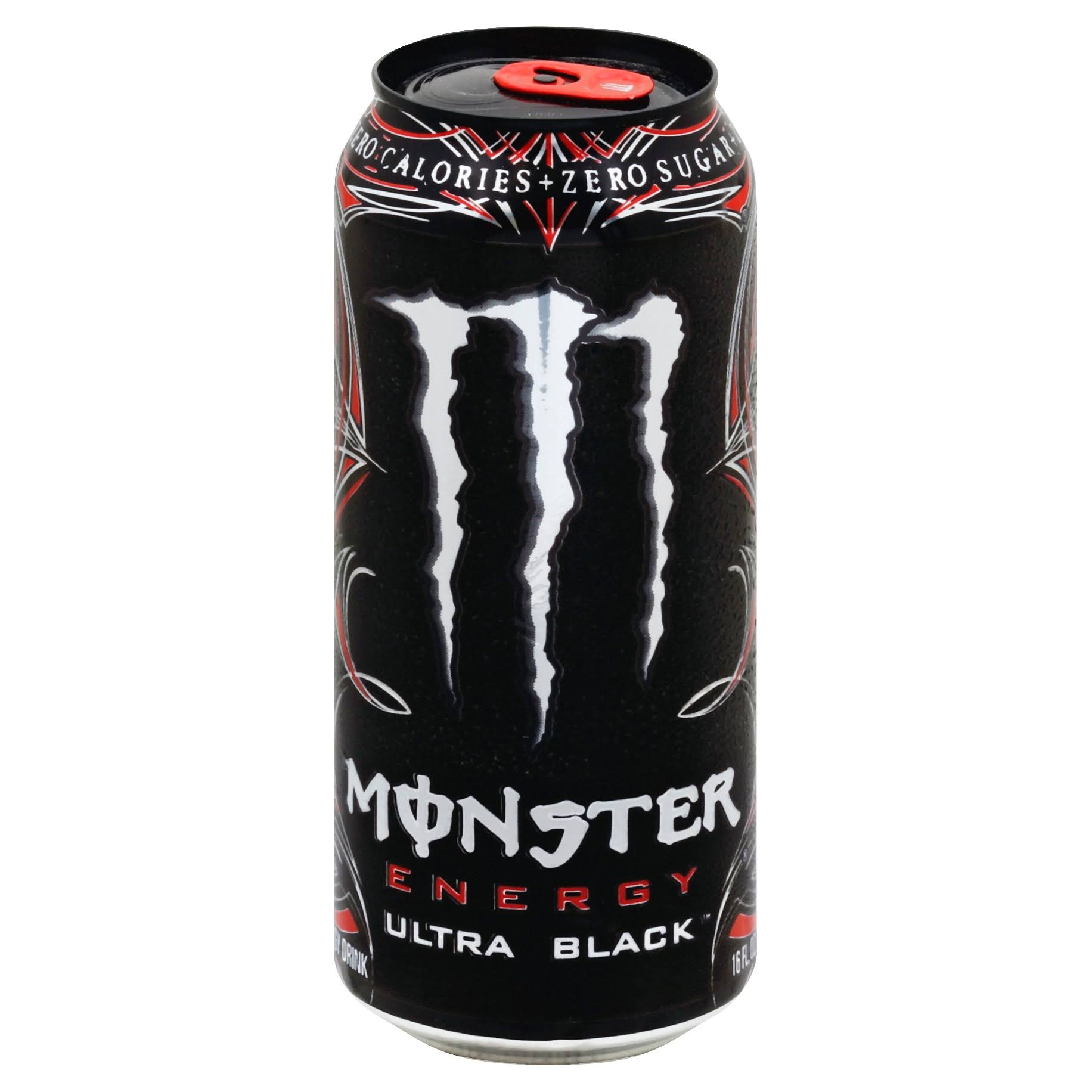Monster Energy Drink - Ultra Black
