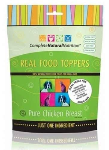 Real Food Toppers Treats For Dogs - Pure Chicken, 4oz