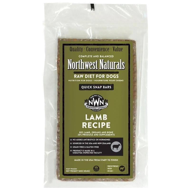 Pet Food Experts 70838089 Northwest Naturals Lamb Bar for Dog