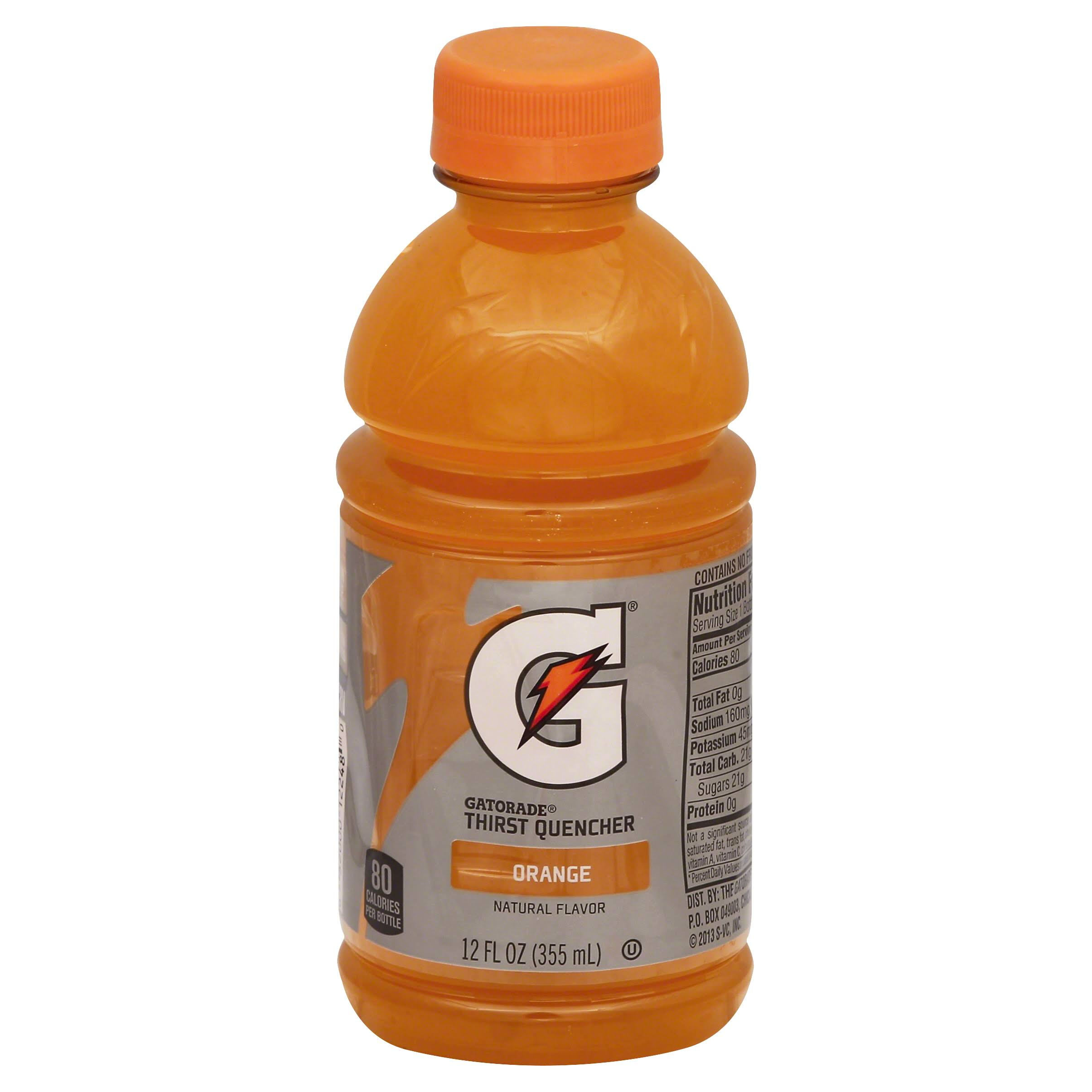 Gatorade G Series Thirst Quencher, Perform, Orange - 12 fl oz