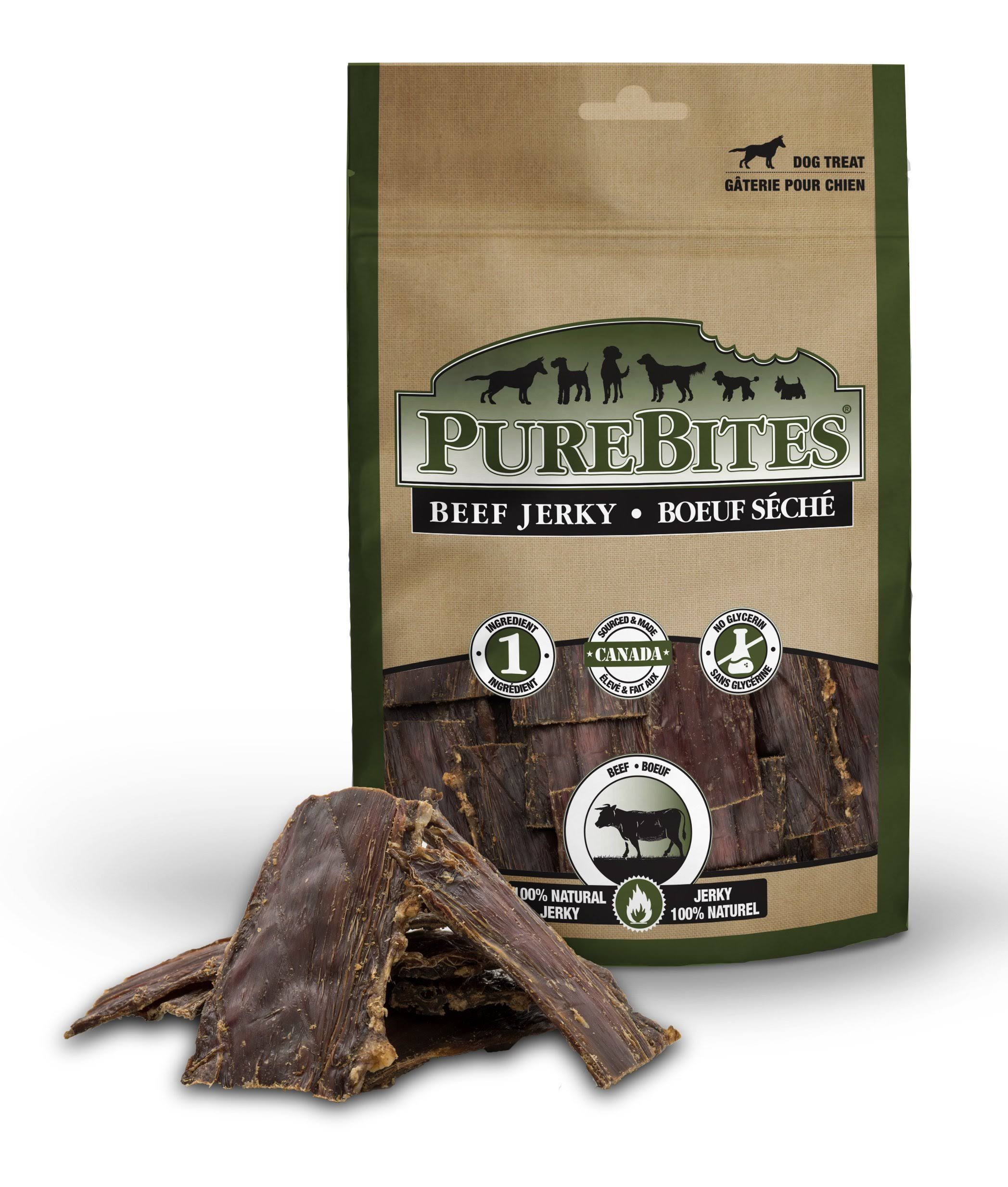 PureBites Beef Jerky Dog Treats
